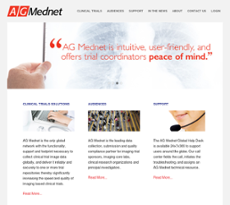 AG Mednet website history