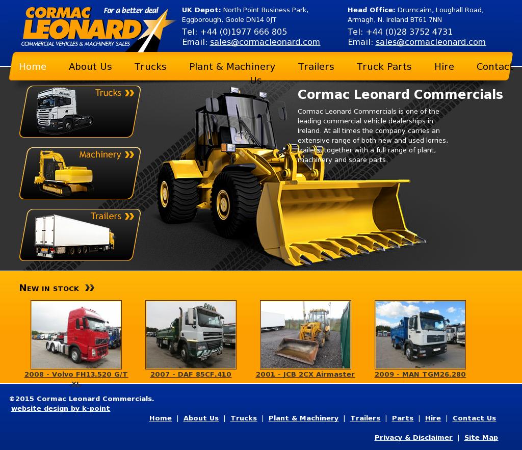 6ff50025ad0876 CORMAC LEONARD COMMERCIALS Competitors