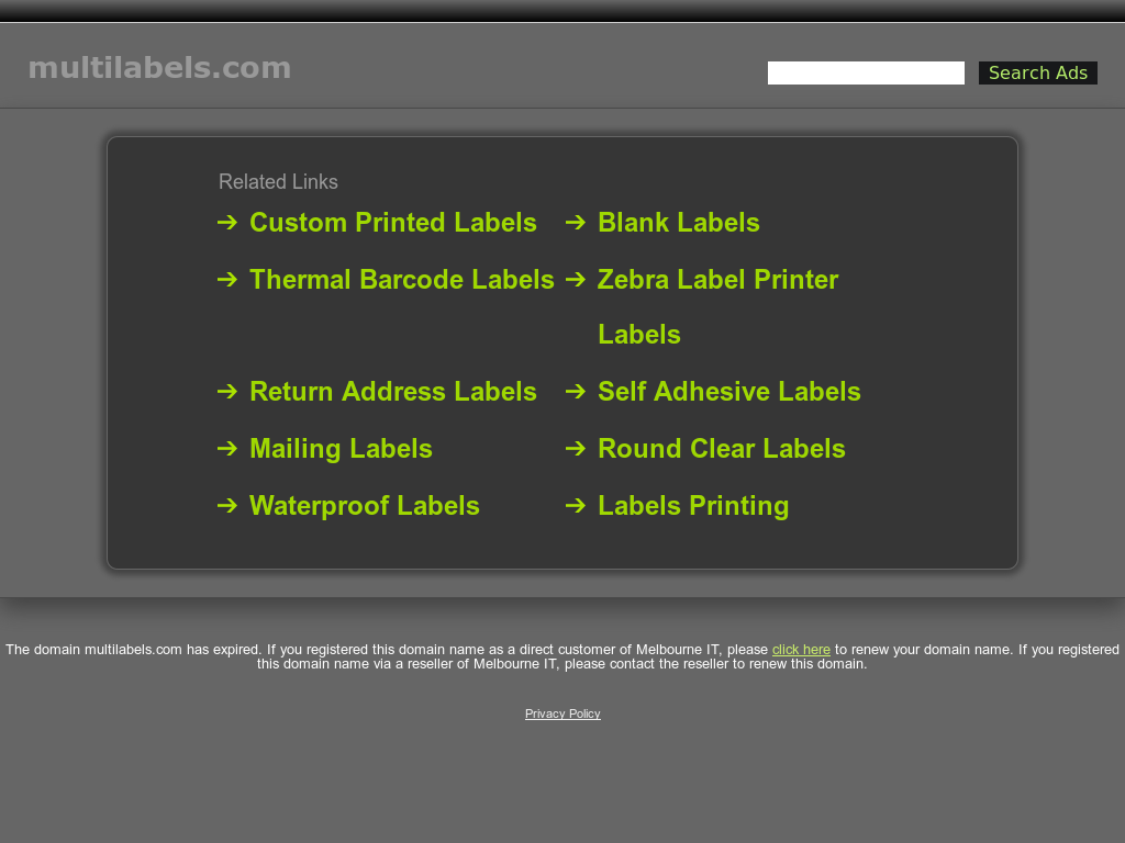 MULTI LABELS LIMITED Competitors, Revenue and Employees - Owler