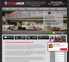 All Florida Ram Jack website history