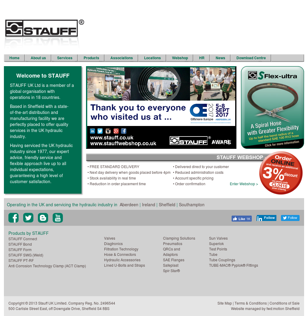 STAUFF UK LIMITED Competitors, Revenue and Employees - Owler Company