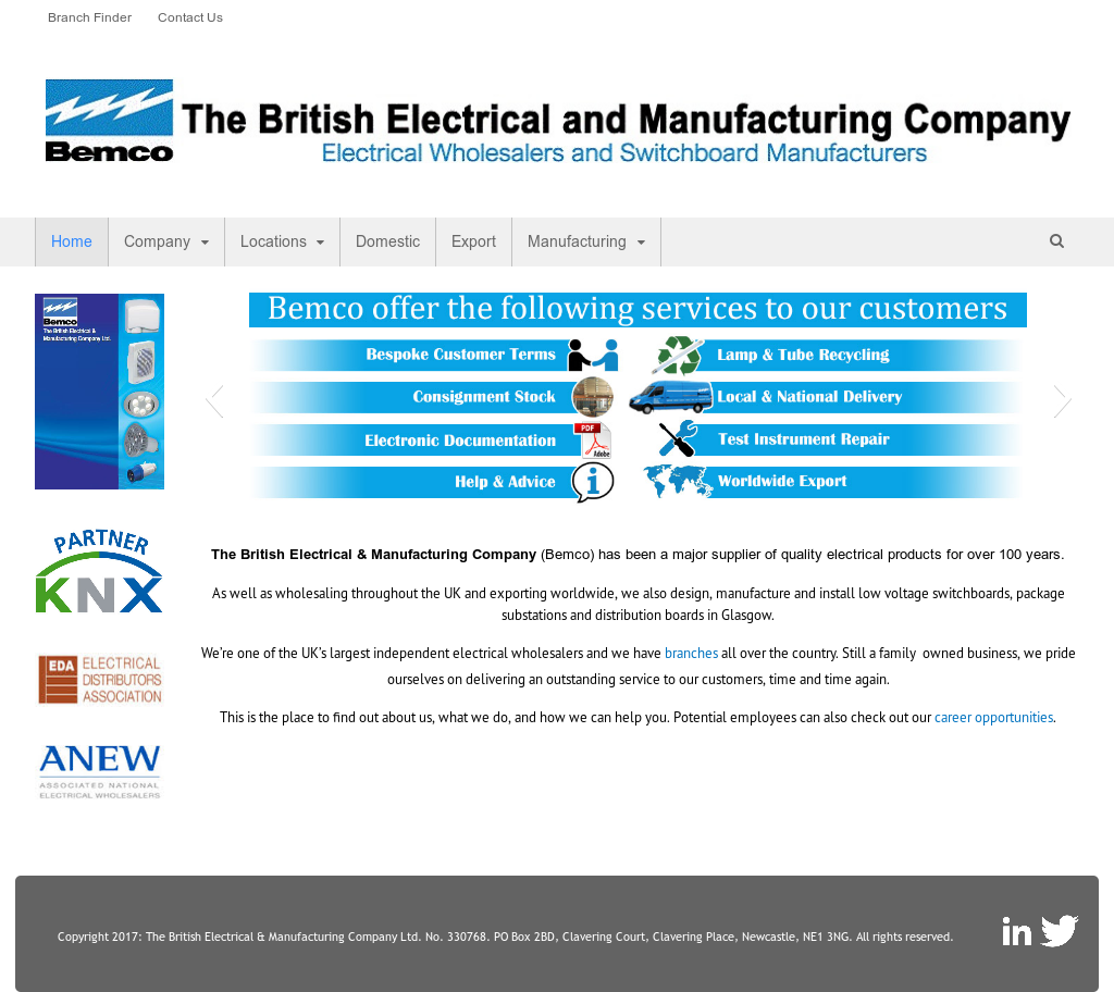 The British Electrical & Manufacturing Company Ltd (BEMCO ...