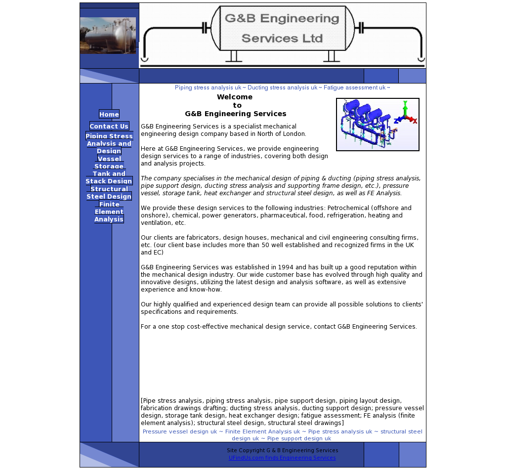 G B Engineering Services Competitors Revenue And Employees Piping Layout Design Owler Company Profile