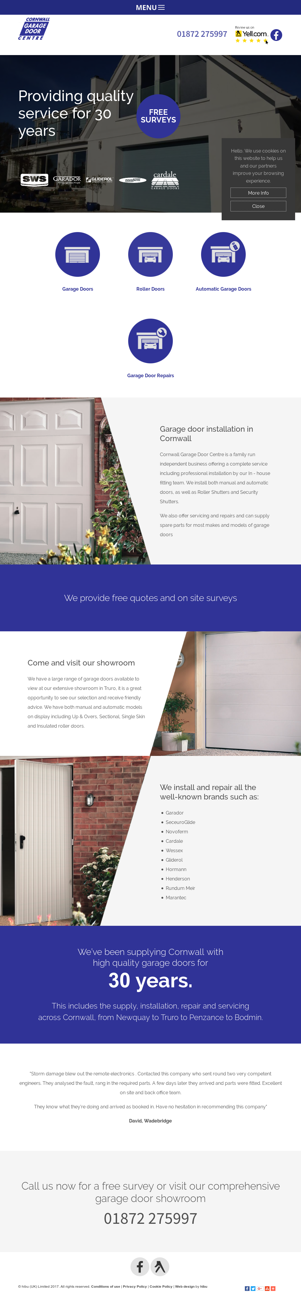 Cornwall Garage Door Centre Limited Competitors Revenue And