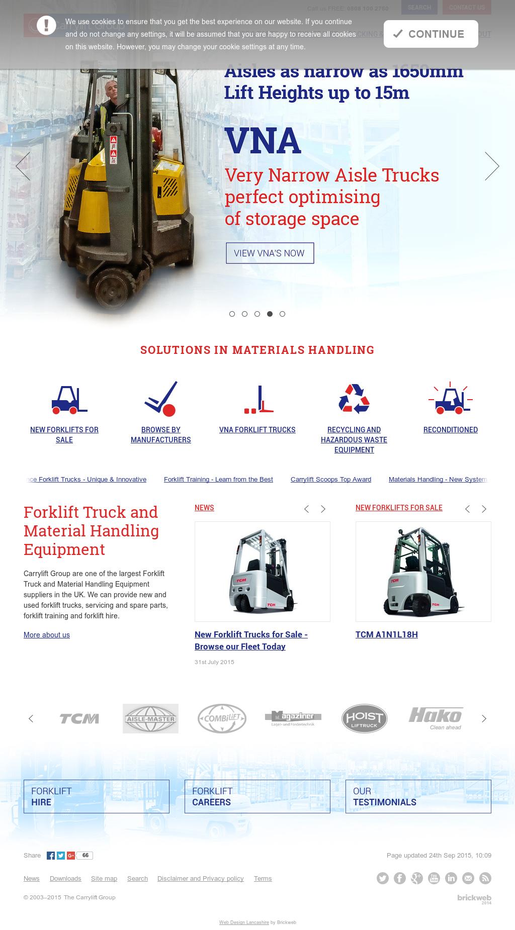 Carrylift Materials Handling Competitors, Revenue and