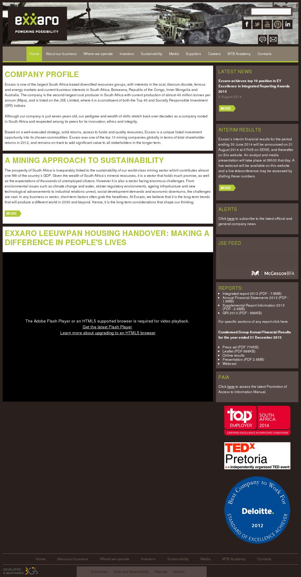 Exxaro Competitors, Revenue and Employees - Owler Company Profile