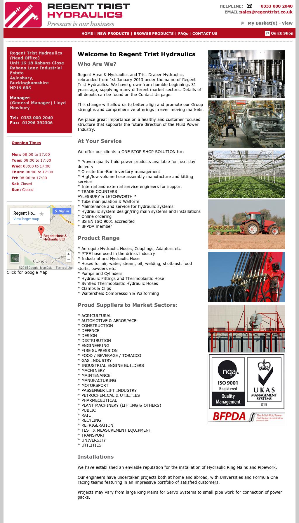 Regent Trist Draper Hose & Hydraulics Competitors, Revenue