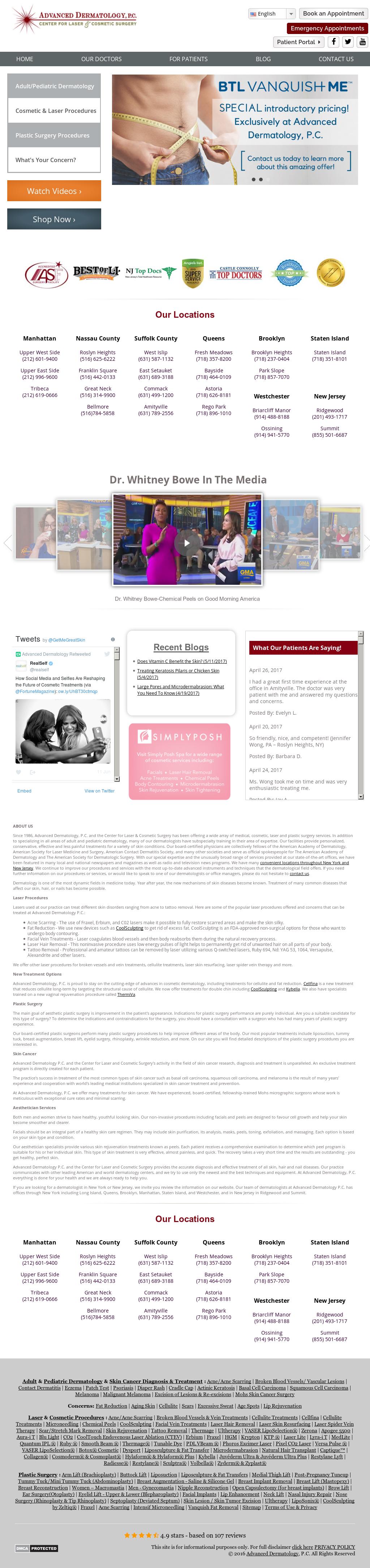 Advanceddermatologypc Competitors, Revenue and Employees