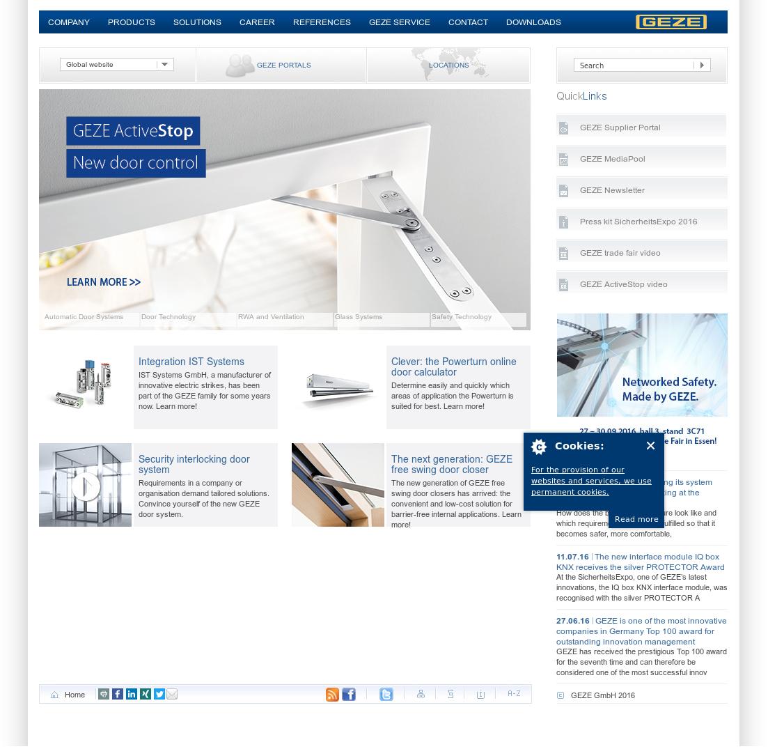Geze UK website history  sc 1 st  Owler & Geze UK Competitors Revenue and Employees - Owler Company Profile