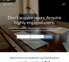 Appcues website history