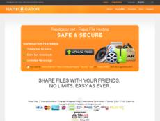 Rapidgator website history