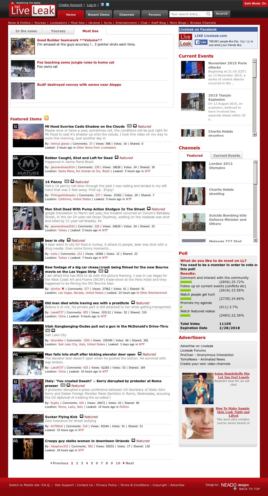 Owler Reports - Liveleak: Q&A: The Man Behind LiveLeak, The