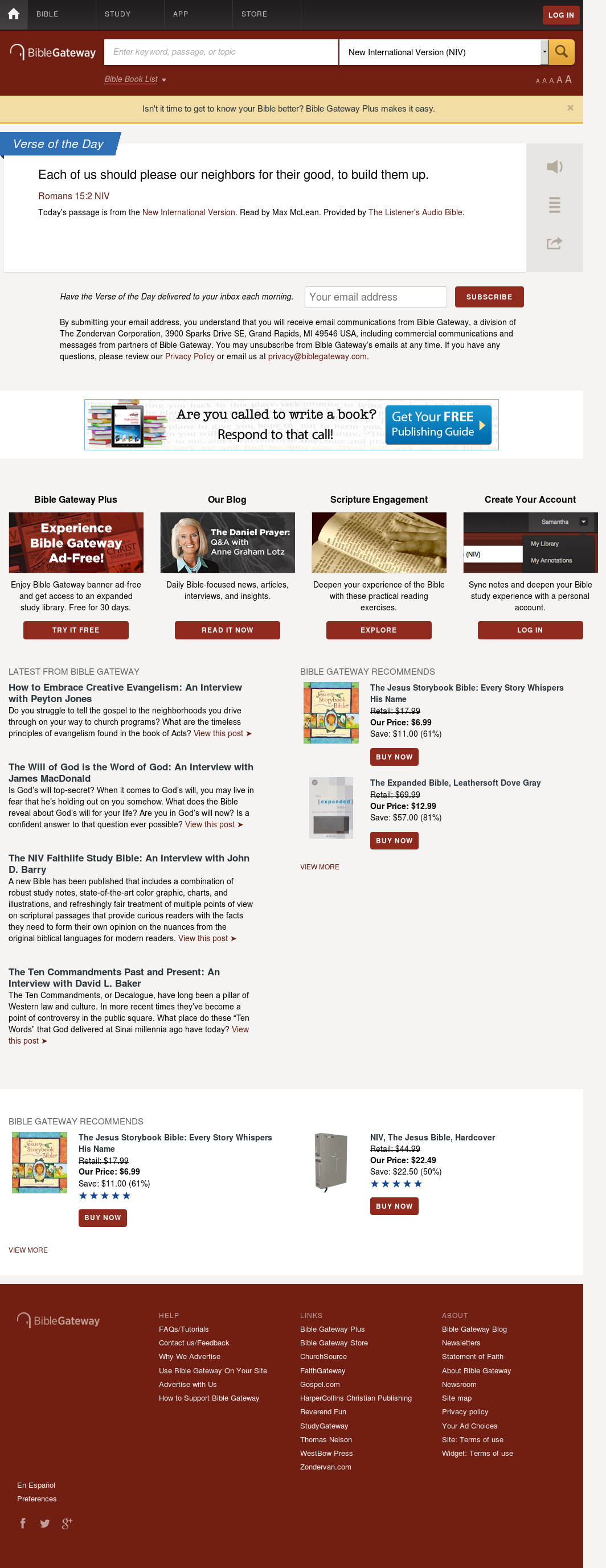 BibleGateway Competitors, Revenue and Employees - Owler
