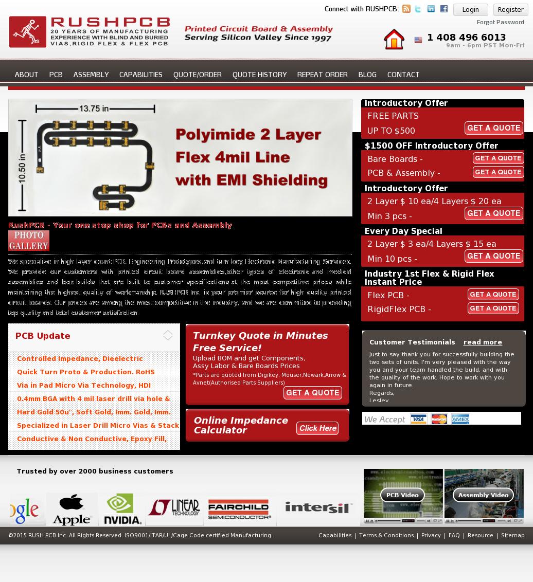 RushPCB Competitors, Revenue and Employees - Owler Company Profile