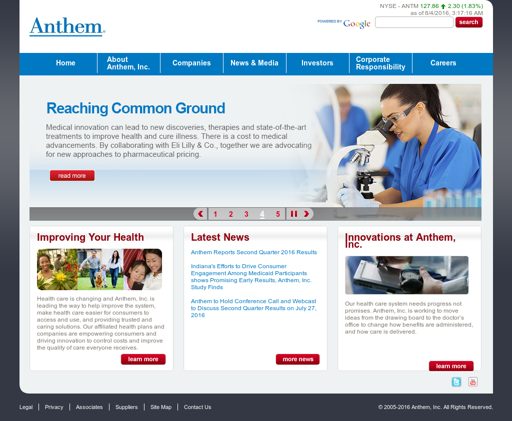 Anthem Competitors, Revenue and Employees - Owler Company