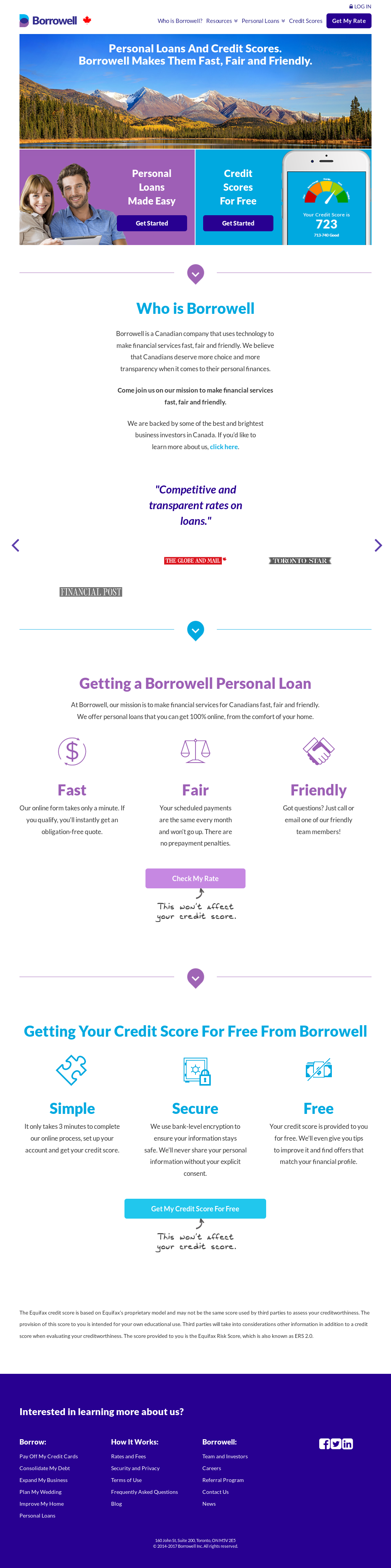 Borrowell Competitors, Revenue and Employees - Owler Company Profile