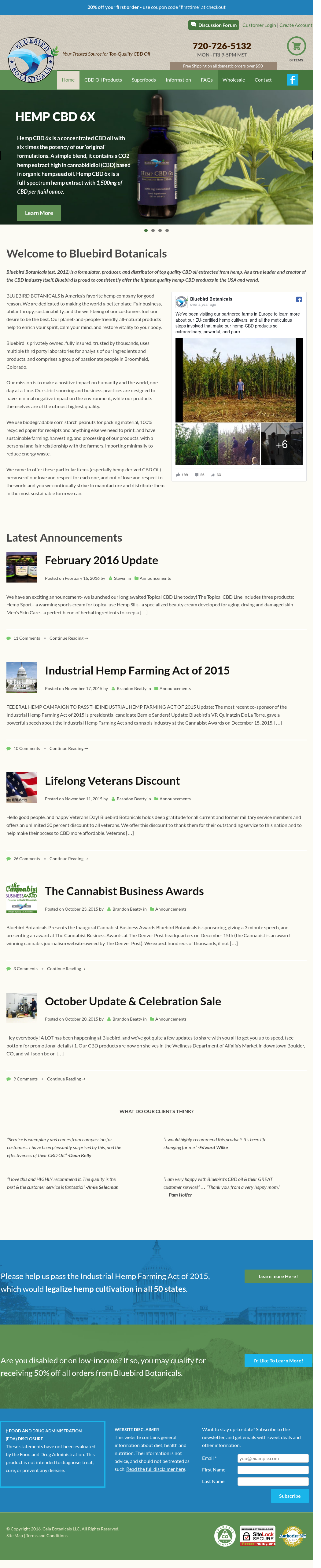Bluebird Botanicals Competitors, Revenue and Employees - Owler ...