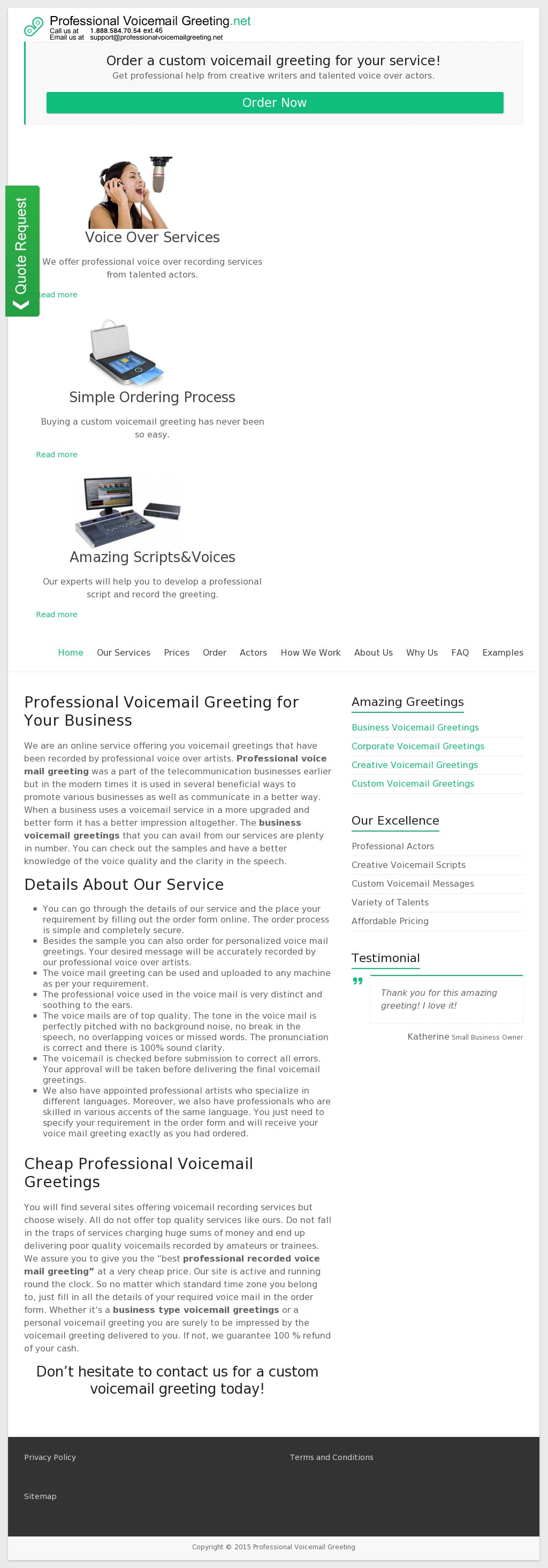 Professionalvoicemailgreeting Competitors Revenue And Employees