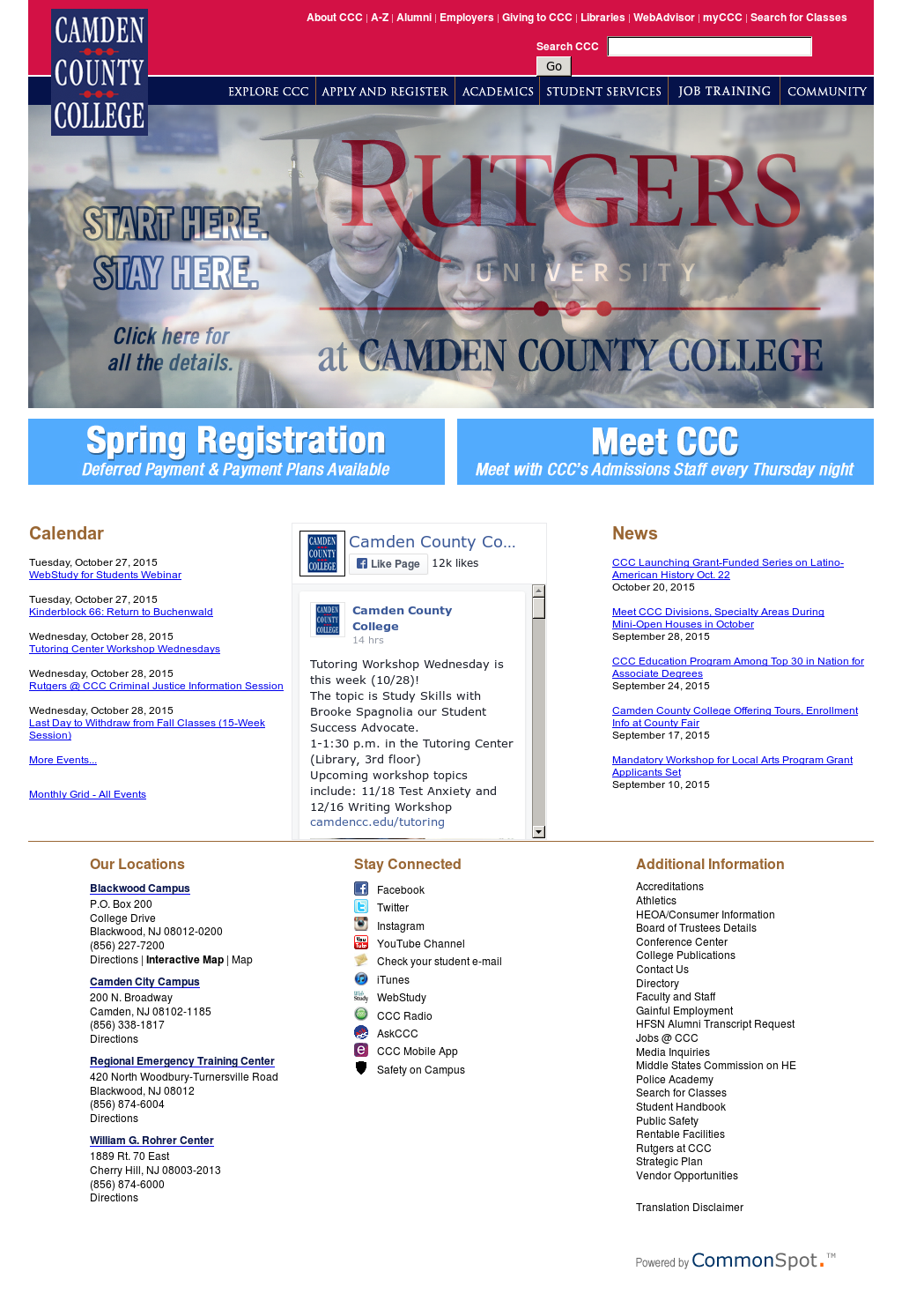 Camden County College Compeors, Revenue and Employees - Owler ... on