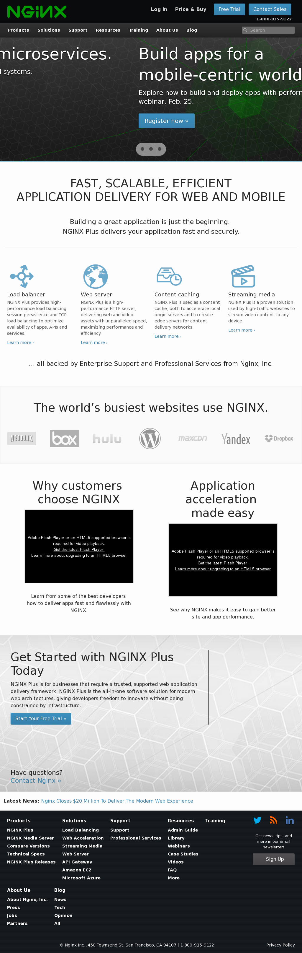 Nginx Competitors, Revenue and Employees - Owler Company Profile