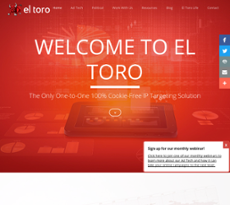 El Toro website history
