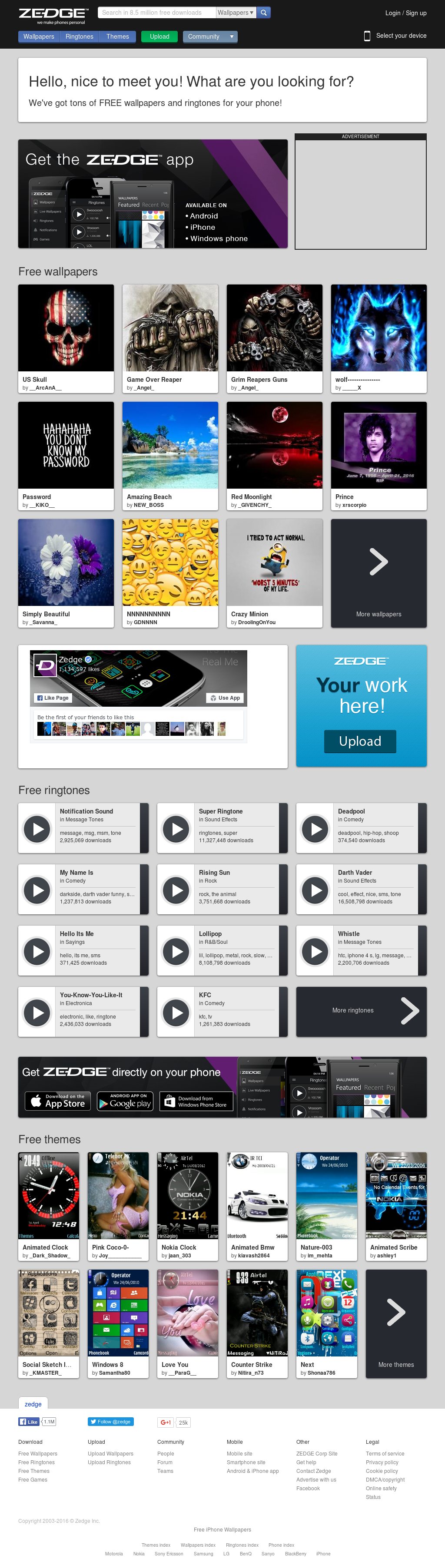 Zedge Competitors, Revenue and Employees - Owler Company Profile