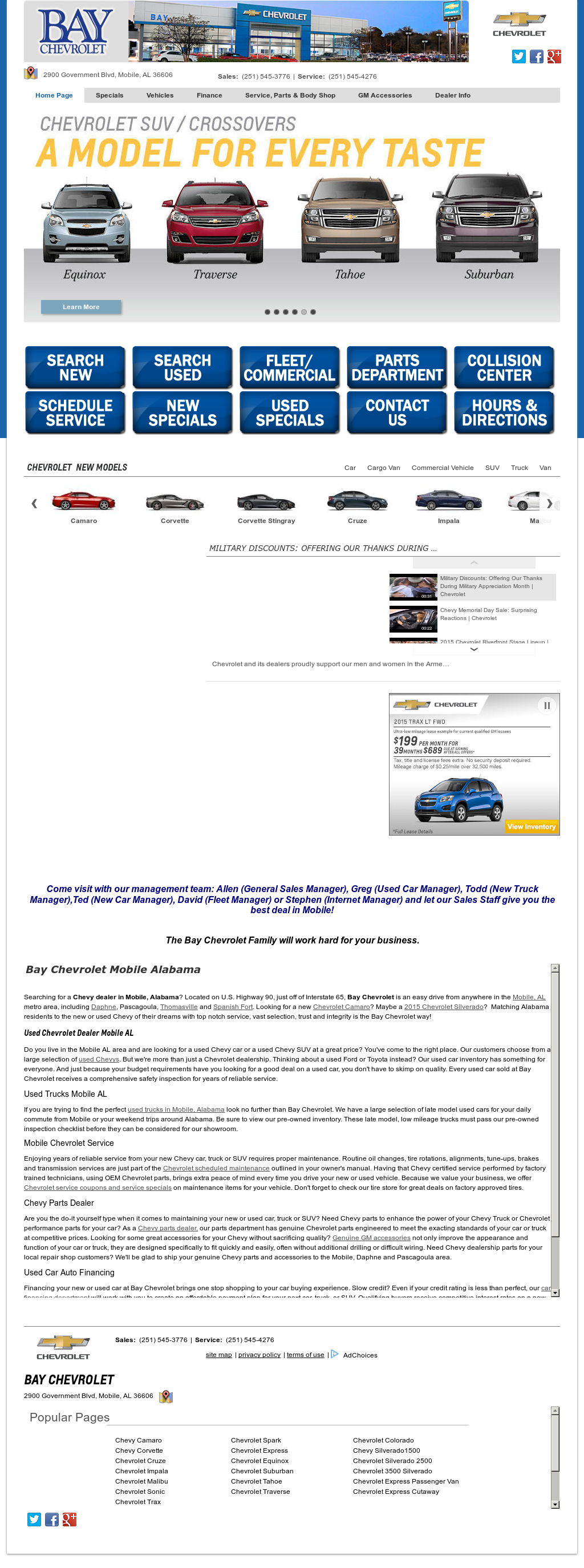Bay Chevrolet Mobile Al >> Bay Chevrolet Competitors Revenue And Employees Owler