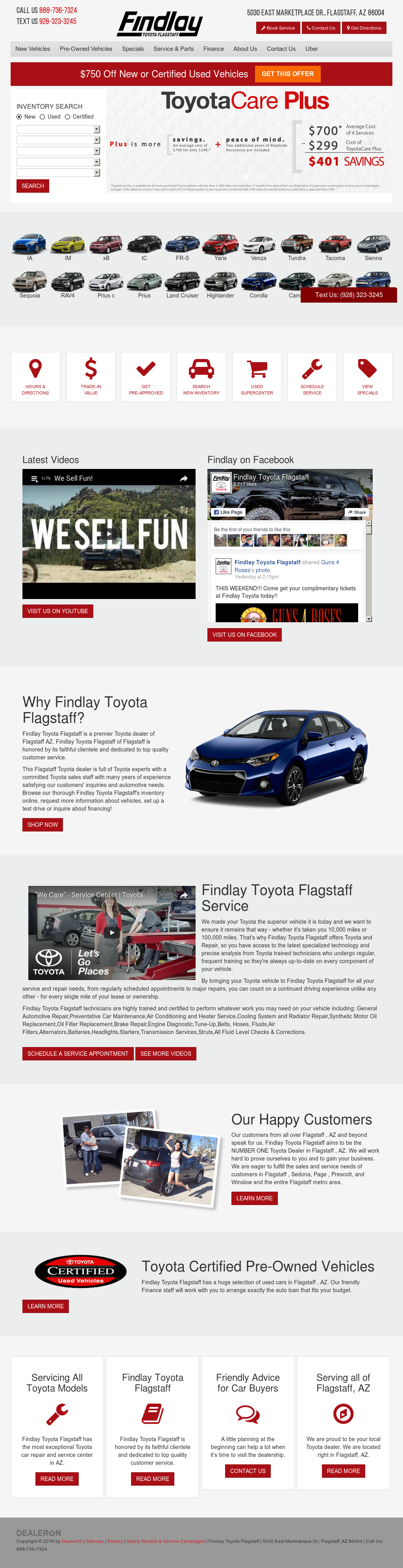 Findlay Toyota Flagstaff Competitors, Revenue and Employees