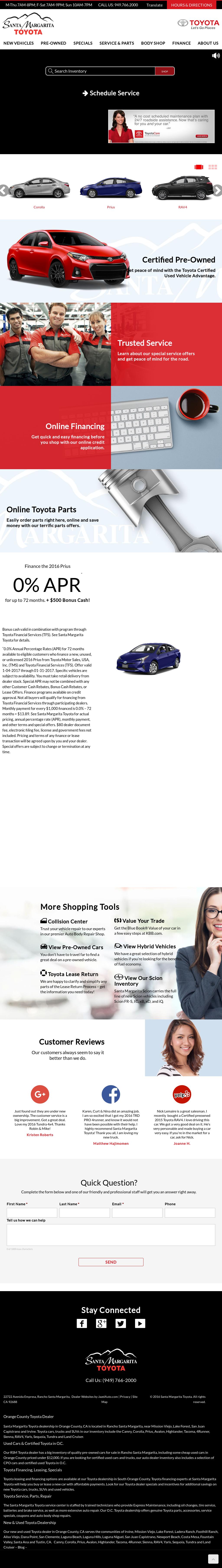 Penske Toyota Scion Of Rancho Santa Margarita Competitors, Revenue And  Employees   Owler Company Profile
