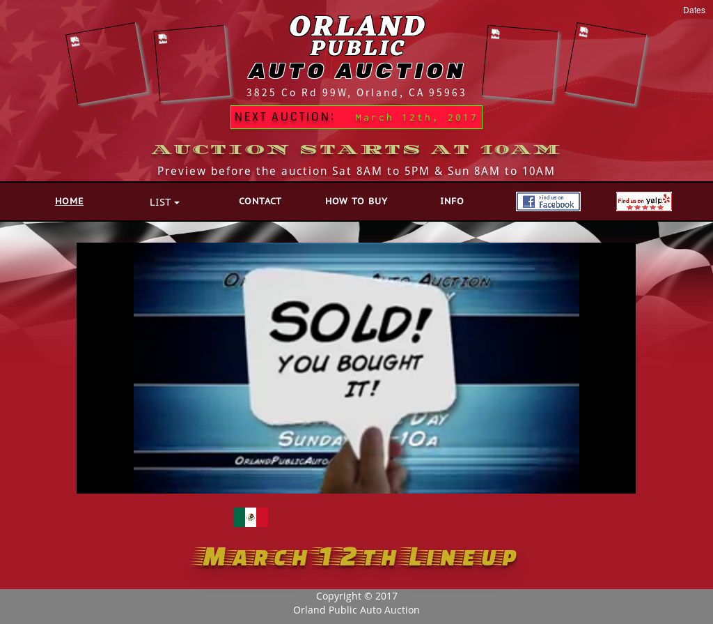 Orland Auto Auction >> Orland Public Auto Auction Competitors Revenue And