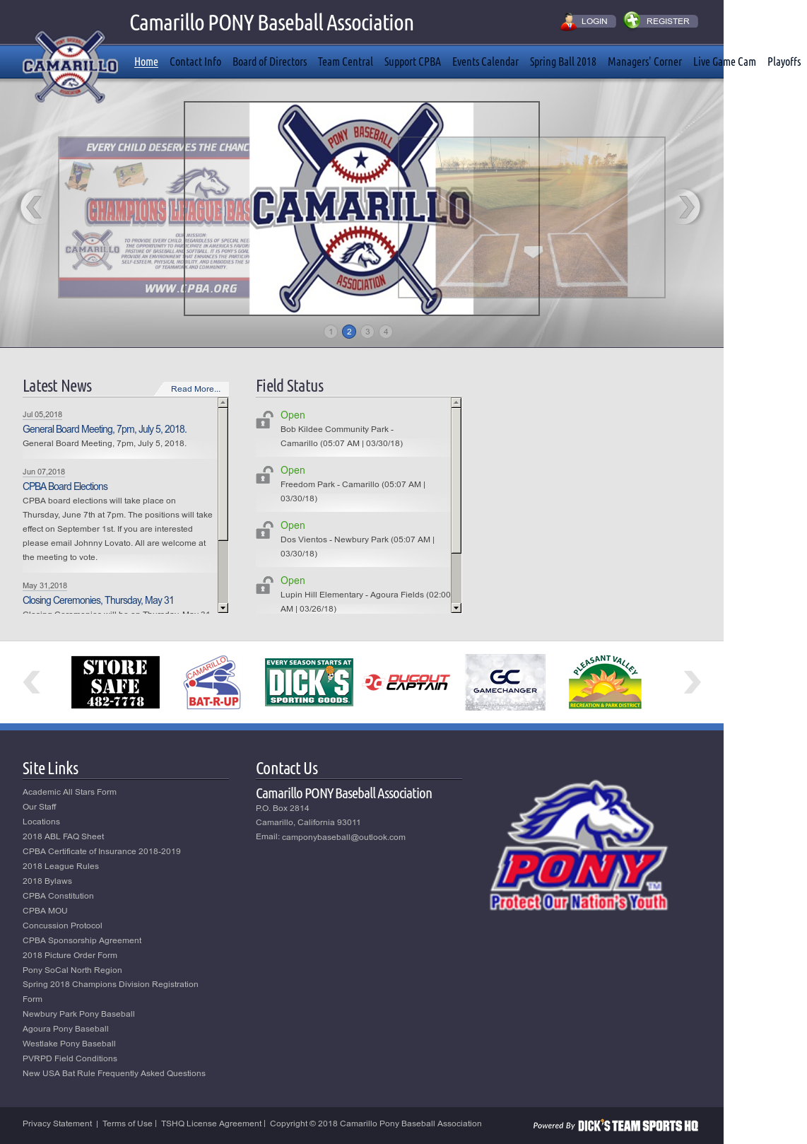 Agoura Pony Baseball Logo
