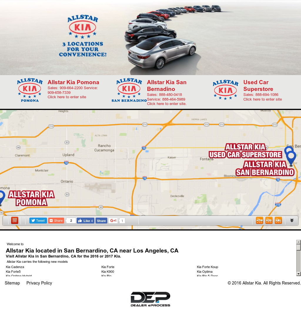 Allstar Kia Of San Bernardino Competitors, Revenue And Employees   Owler  Company Profile