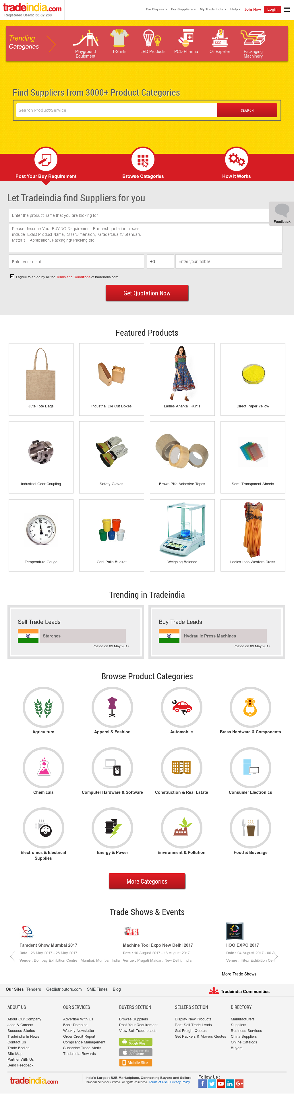 Tradeindia Competitors, Revenue and Employees - Owler