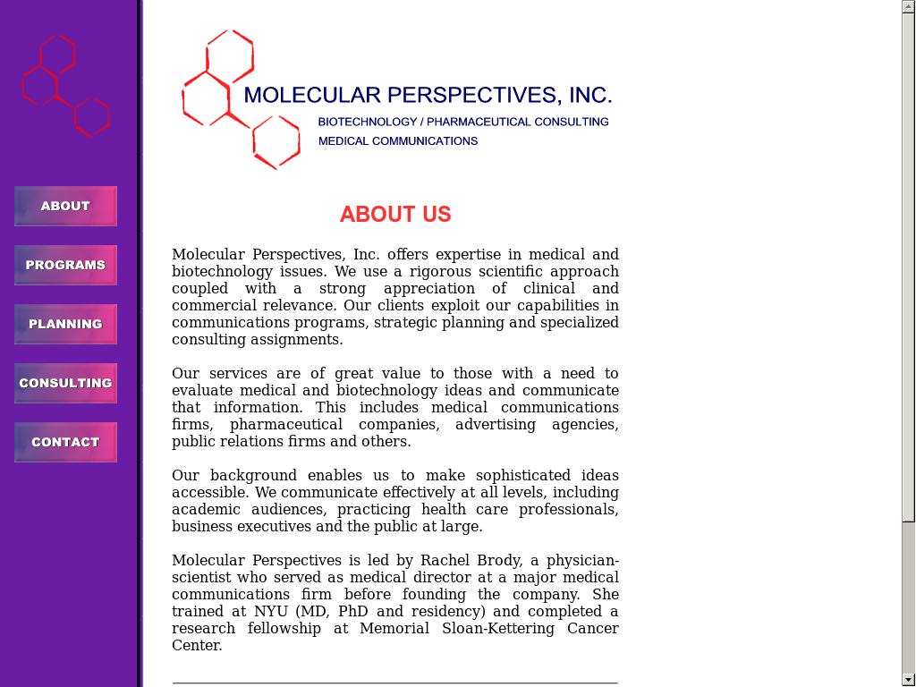 Molecularperspectives Competitors, Revenue and Employees