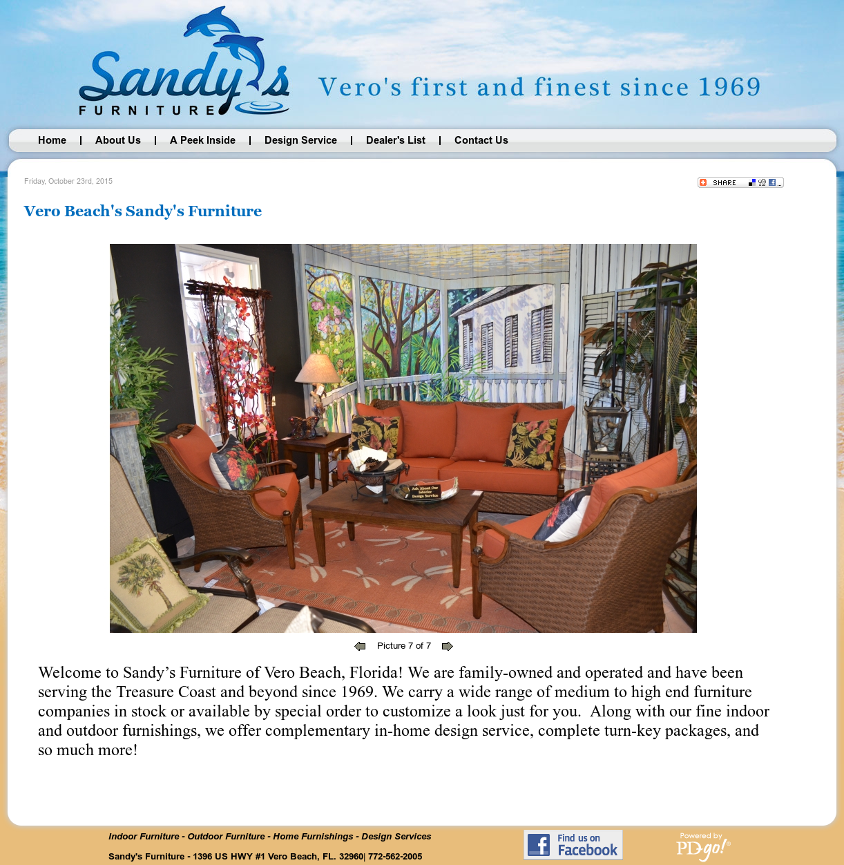 Sandy S Furniture Of Vero Beach Compeors Revenue And Employees Owler Company Profile