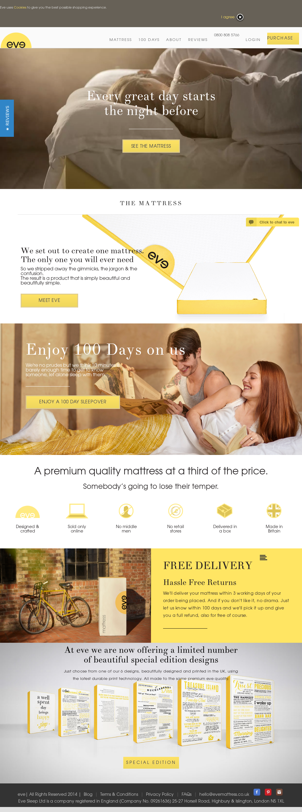eve mattress competitors revenue and employees owler company profile