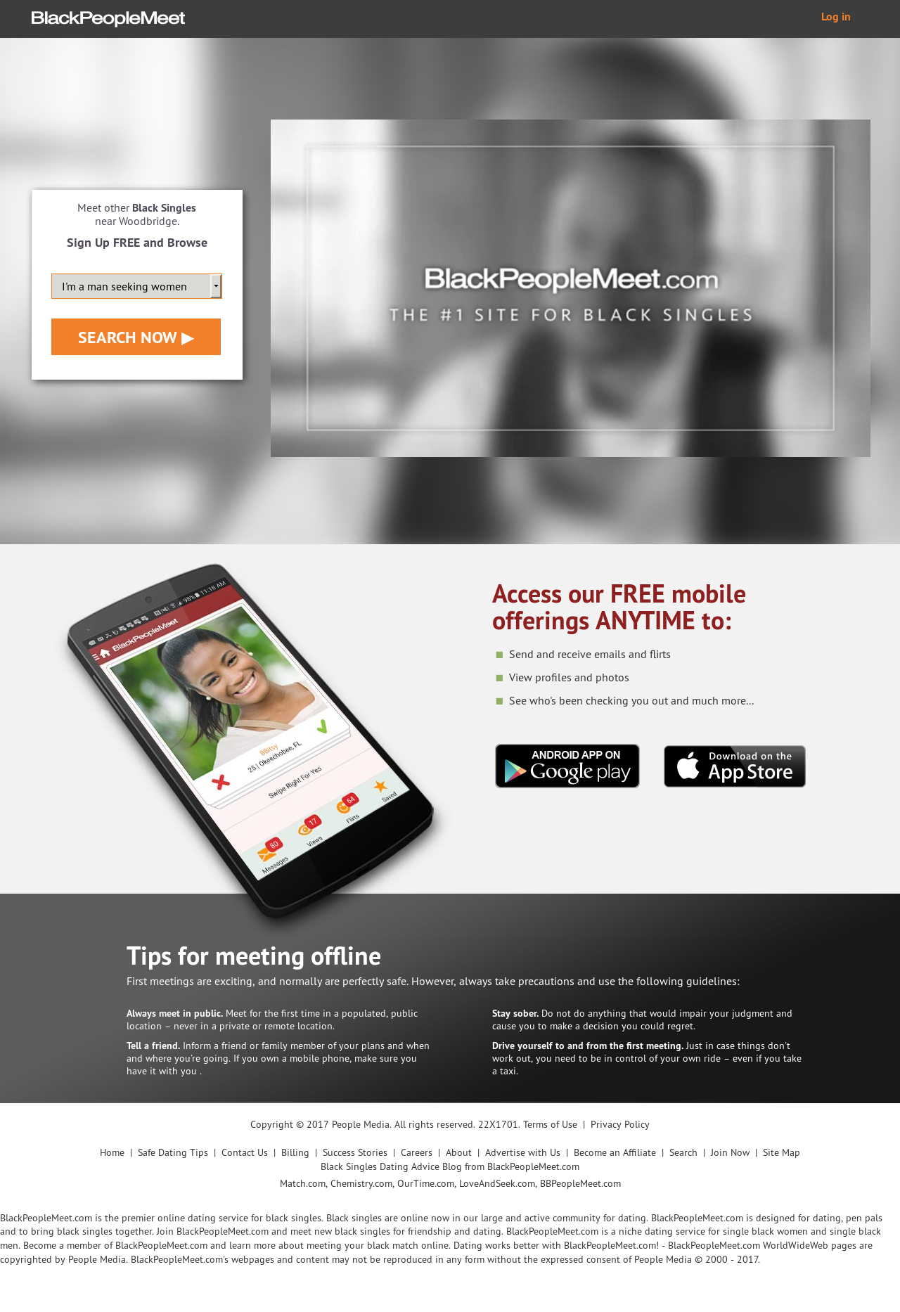 Blackpeoplemeet com mobile site