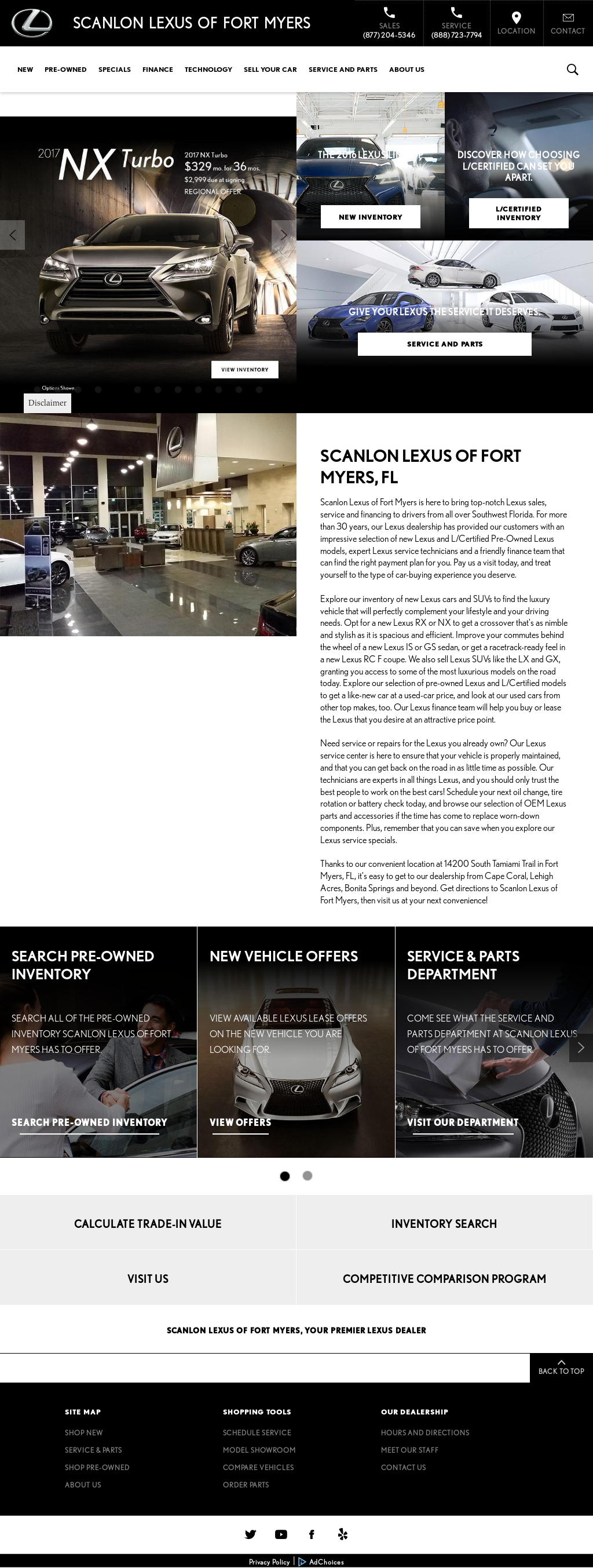 scanlon lexus of ft myers competitors revenue and employees owler company profile. Black Bedroom Furniture Sets. Home Design Ideas