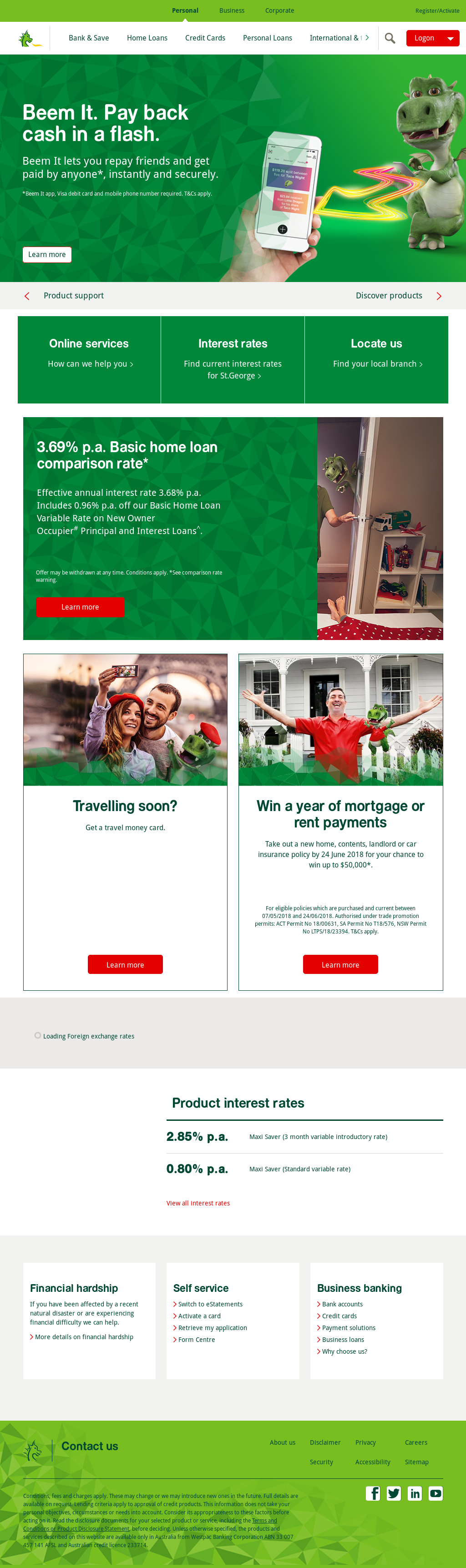 Storge bank competitors revenue and employees owler company storge bank website history reheart Images
