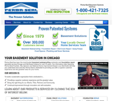 Perma Seal Basement Systems Website History