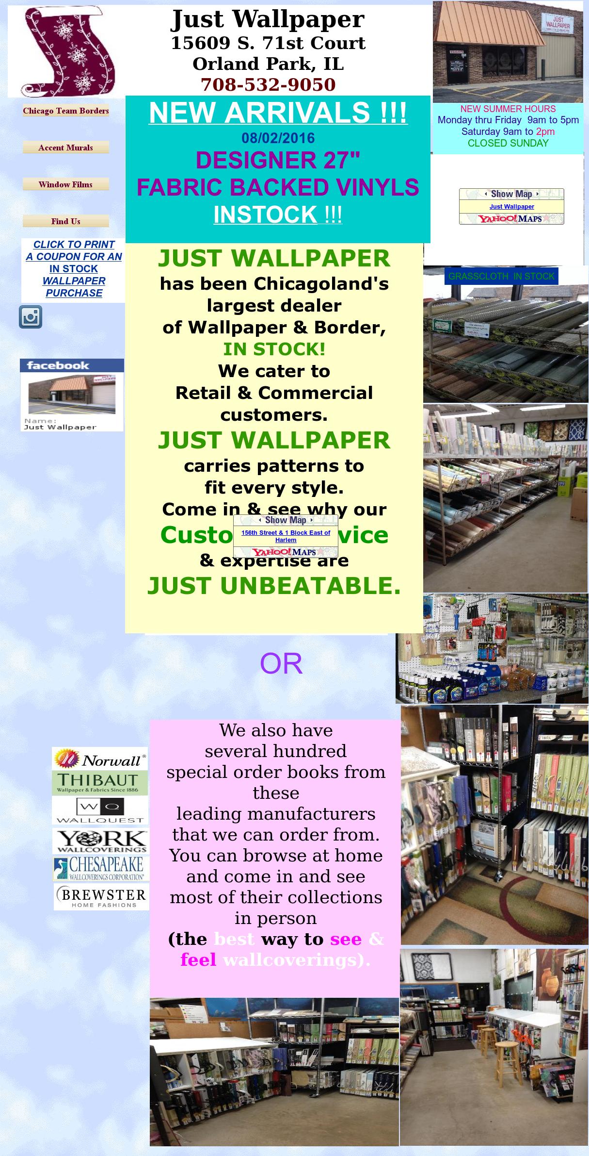 Just Wallpaper Competitors, Revenue and