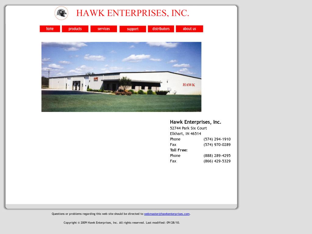 Hawk Enterprises Of Elkhart Competitors, Revenue and