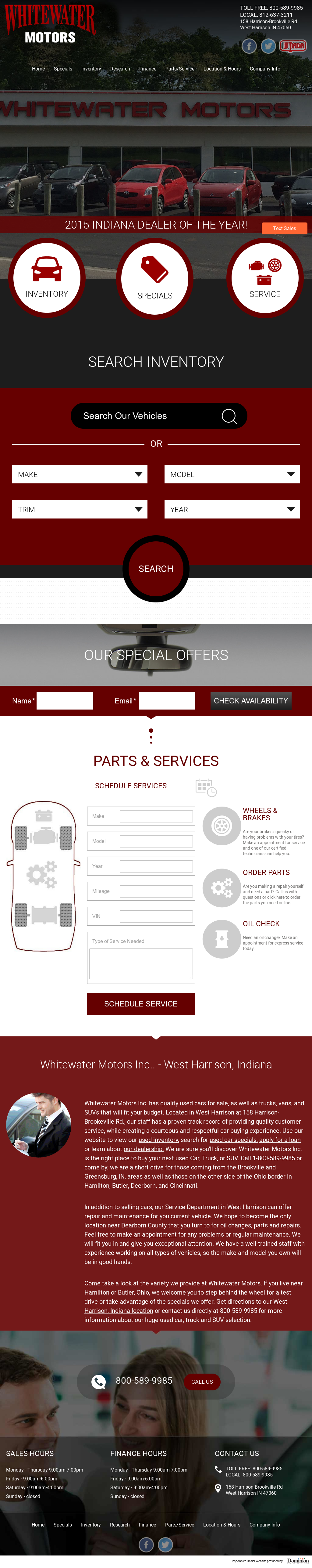 Whitewater Motors Competitors, Revenue and Employees - Owler Company Profile
