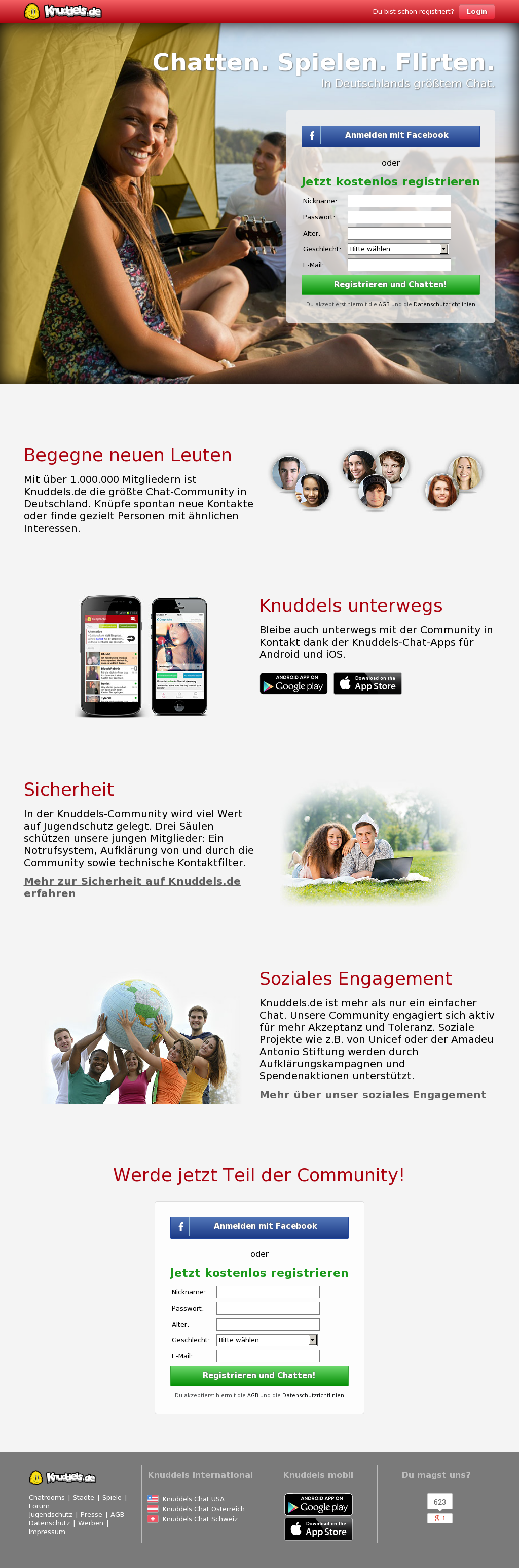 Knuddels mobile  Knuddels  2019-07-15