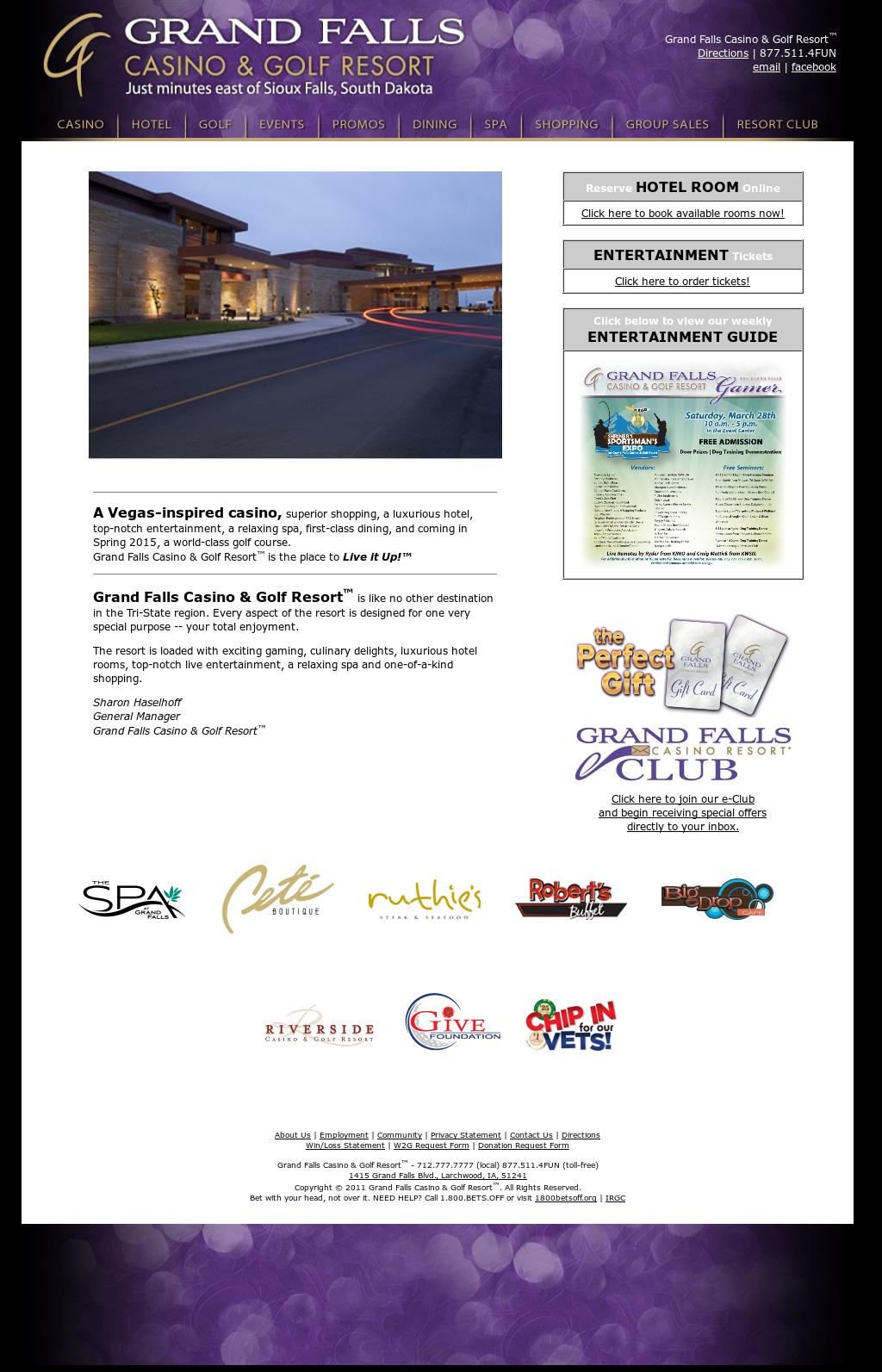 Grand Falls Casino Resort Competitors, Revenue and Employees
