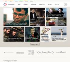 Česká televize website history