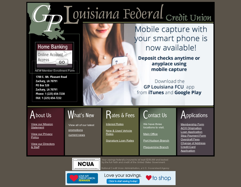 Gp Louisiana Federal Credit Union Competitors Revenue And Employees