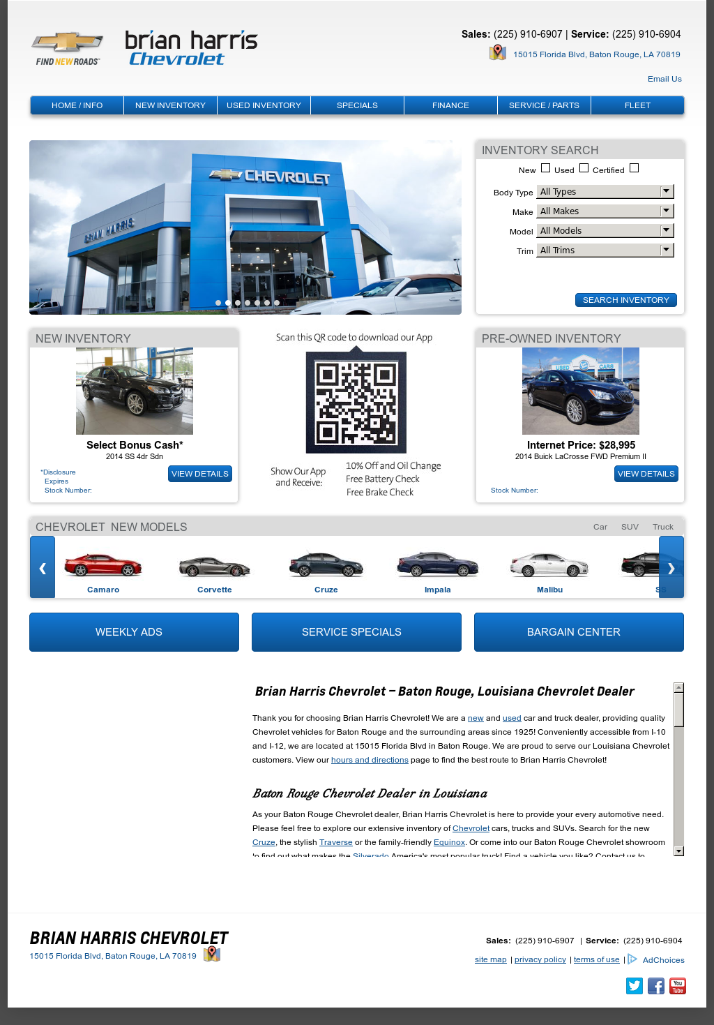 Brian Harris Chevrolet Competitors, Revenue And Employees   Owler Company  Profile