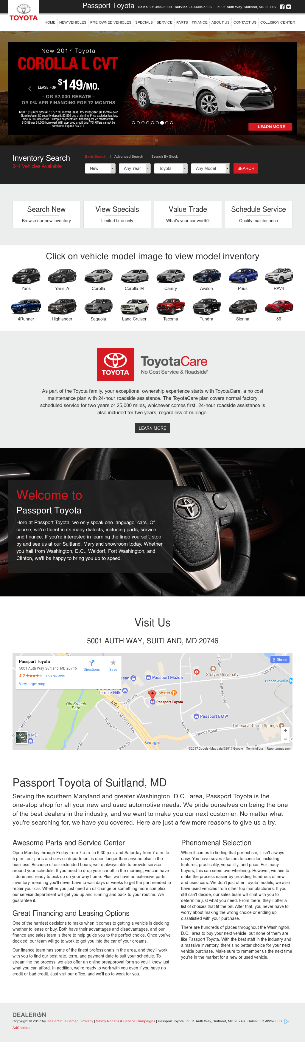 Toyotacare Roadside Assistance Number >> Beltway Toyota Competitors Revenue And Employees Owler