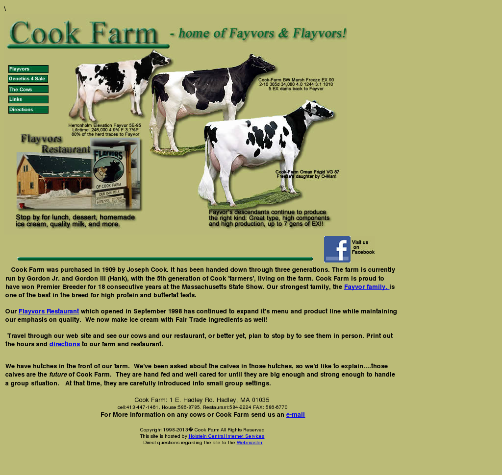Cook Farm And Flayvors Of Cook Farm Competitors, Revenue and